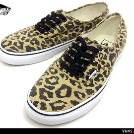 VANS - VANS AUTHENTIC (Van Doren) Leopard/Black