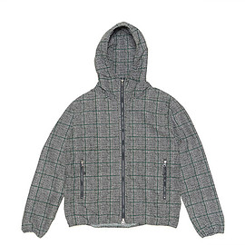THE NORTH FACE PURPLE LABEL - Glen Check Print Mountain Wind Parka-Glen Check