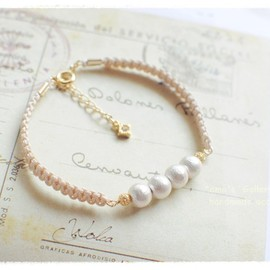 amo* - cottonpearl*code line  ivory