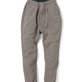 nonnative - EXPLORER EASY RIB PANTS - C/W TWILL