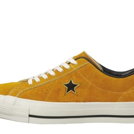 CONVERSE - ONE STAR J VTG (GOLD)