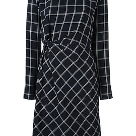 Elizabeth And James - geometric print fitted dress