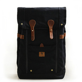Wheelmen & Co. - Image of BABYLON BACKPACK- BLACK