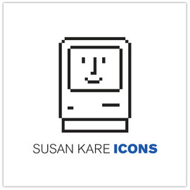 Susan Kare ICONS book - Susan Kare ICONS book