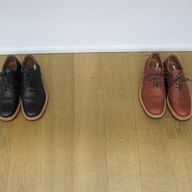 JUNYA WATANABE COMME des GARCONS MAN - 2010-2011 AW leather shoes brown