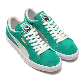PUMA - PUMA SUEDE 90681  KELLY GREEN