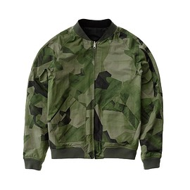 nudie jeans - Brook Jacket Black And Camo Black