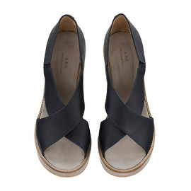 A.P.C. - ALMA WEDGE SANDALS