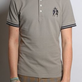 Vivienne Westwood MAN - Crest Polo in Cement