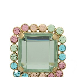 MARC BY MARC JACOBS - ANTOINE RING/アクア