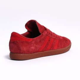 adidas originals - Tobacco Trainers - Nomad Red / Collegiate Red