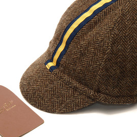 Rugby - Herringbone Cycling Cap