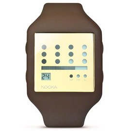 NOOKA - Zub 20 Zot Watch (Smoky Quartz) by Matthew Waldman