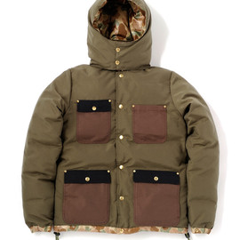 bal - 2FACE DOWN JACKET