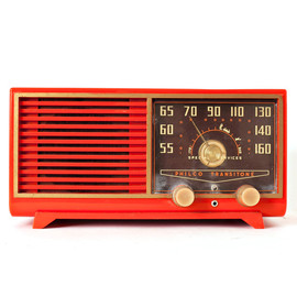 Philco Transitone - Orange Philco Speaker