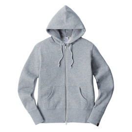 LOOPWHEELER - LW78 Light Zip up hoodie for women's 2012