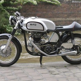 Karl Lagerfeld Comissioned Triton Motorcycle for Chanel