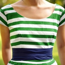 Green and navy? Love!