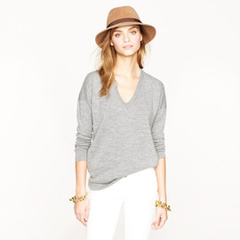 Demylee™ X J.Crew long open-front cardigan sweater