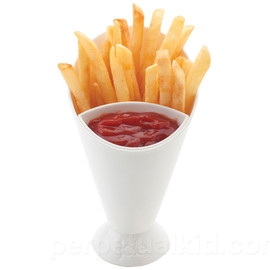 Perpetual Kid - French Fry Cone & Dip