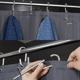 quirky - Branch - shower curtain rings with hooks