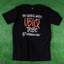 UBIQ (Philly), Stussy - Stussy for UBIQ - 10th Anniversary Tee in Black