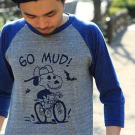BLUE LUG - go mud! raglan t-shirt