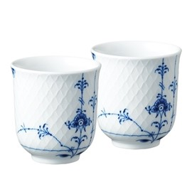 ROYAL COPENHAGEN - Blue Fluted Cup