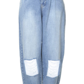 TOPSHOP - Ripped Baggy jeans