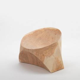 "Karim Rashid - ""Kairo"" a chair made ​​of solid cedar scent."