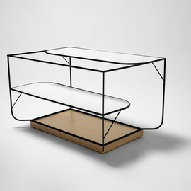 alexandra goncalves - naturally furniture collection center table