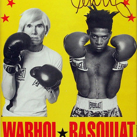ANDY WARHOL & JEAN-MICHEL BASQUIAT - WARHOL★BASQUIAT PAINTINGS