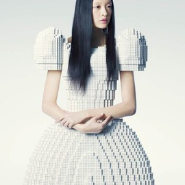 Rie Hosokai - LEGO Wedding Dress