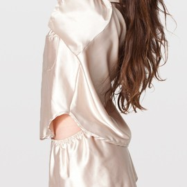 American Apparel - Satin Charmeuse Pajama Set