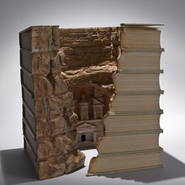Guy Laramee - impressive sculptures out of books