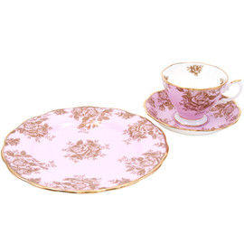 ROYAL ALBERT - 100YEARS Tea for One Set