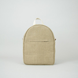 Thisispaper - Boxy Backpack Raw Natural Medium