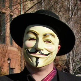 Guido Fawkes - V for Vendetta Mask