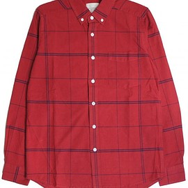 Saturdays Surf NYC - red stripe shirt