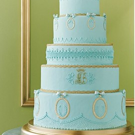 party! - blue & gold | martha stewart weddings