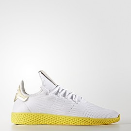 adidas Originals, PHARRELL WILLIAMS - Pharrell × adidas Tennis HU / Human Race White/Gold/Yellow