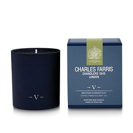 Charles Farris - British Expedition Scented Candle | Cloves, Tobacco & Mint Tea