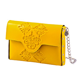 Medusa Brand - mini clutch/Yellow