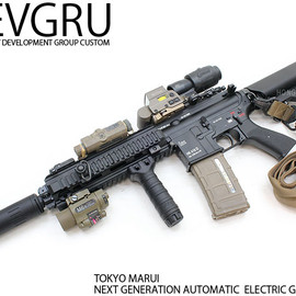 TOKYO MARUI - HK416D DEVGRU CUSTOM -SEAL TEAM6/Development Group CUSTOM-