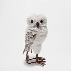 ZARA HOME - White owl-shaped decoration