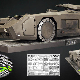 Hollywood Collectibles - Aliens M577 Armored Personnel Carrier