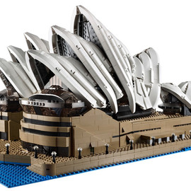 LEGO - New Lego Sydney Opera House Is Huge—Almost 3,000 Bricks