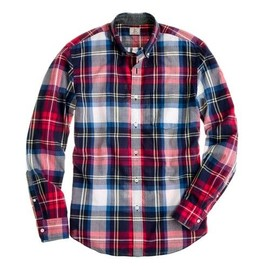 J. CREW - Indian cotton shirt in Bamfield plaid