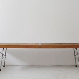George Nelson - platform bench / birch