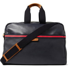Gucci - Cannes Leather Holdall Bag